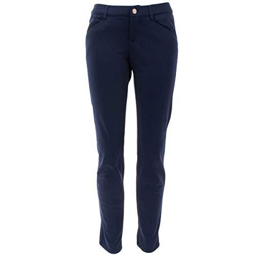ALBERTO Damen Hose Mona L Super Jersey, Farbe:Blau(899), Größe:44