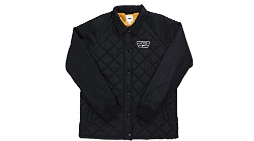 Vans_Apparel Thanks Coach Quilted Jacket MTE Giacca, Nero (Black), 6 (Taglia Produttore: X-Small) Donna