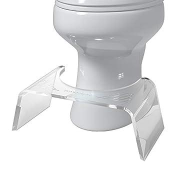 Squatty Potty Ghost Acrylic Toilet Stool 7