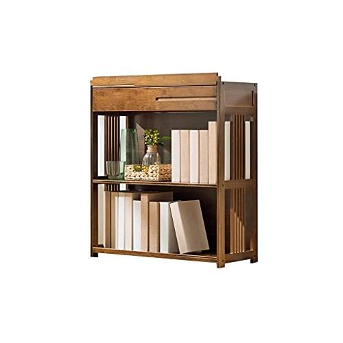 JJZXT Escritorio Estante de Escritorio Booktop Booktop Bookcase Office Storage Rack Estante de Escritorio Ajustable con Estilo Libre Ingenioso diseño