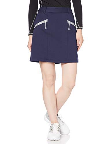 [キャロウェイ] [レディース] スカート (カノコダンボール・UVカット) / 241-0228802 / かわいい ゴルフ ウェア 120_ネイビー 日本 M (日本サイズM相当)