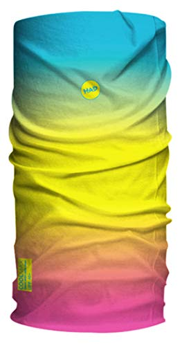H.A.D. Coolmax Kids Blau-Gelb-Pink, Kinder Kopfbedeckung, Größe One Size - Farbe The Feel