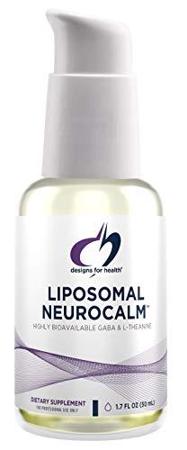 Designs for Health Liposomal NeuroCalm - Liquid GABA + L Theanine to...