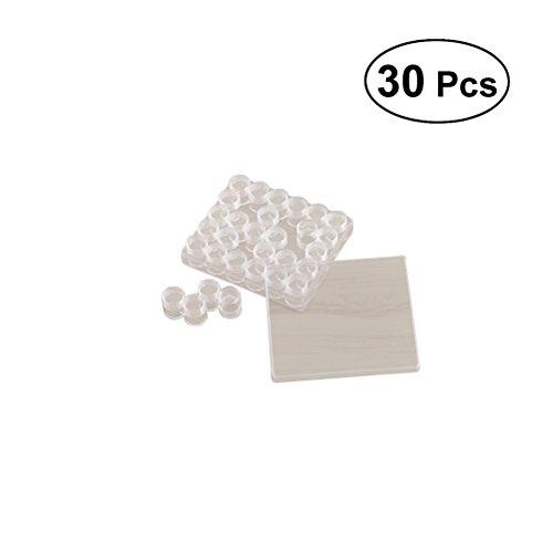 SUPVOX 30pcs Perles Ensemble de Stockage bocaux boîte de Diamant boîtes Transparentes avec Couvercle pour Bricolage