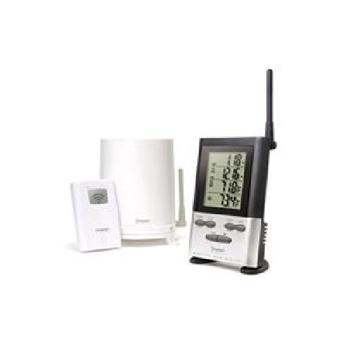 OREGON Wireless Rain Gauge w/ Thermometer / OR-RGR126 /