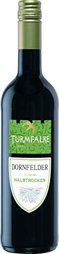 Turmfalke Dornfelder Qualitätswein halbtrocken (1 x 0.75 l)