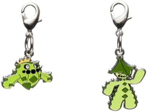 Pokemon Center Original national picture book Metal Charm 331.332 (japan import)