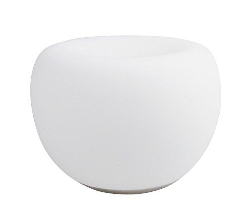 iDual LED-Glastischleuchte Clover mit Fernbedienung. Warmweiß bis Kaltweiß; Dimmfunktionen; Multicolor-Umgebungs- und Stimmungslicht. 500 lm.