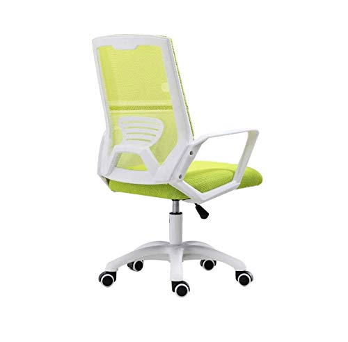 ZOUSHUAIDEDIAN Silla de oficina para el hogar, silla de computadora, silla ergonómica de escritorio mediados de malla de malla silla ejecutiva rueda giratoria silla de tarea para oficina, hogar, escue
