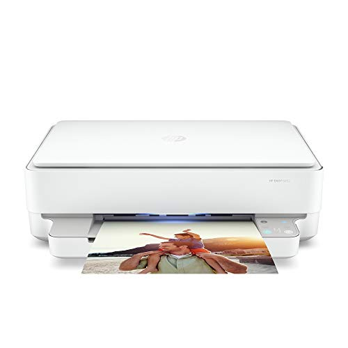 HP Envy 6052 Wireless All-in-One Color Inkjet Printer, Mobile Print, Scan & Copy, Instant Ink Ready, 5SE18A (Renewed)