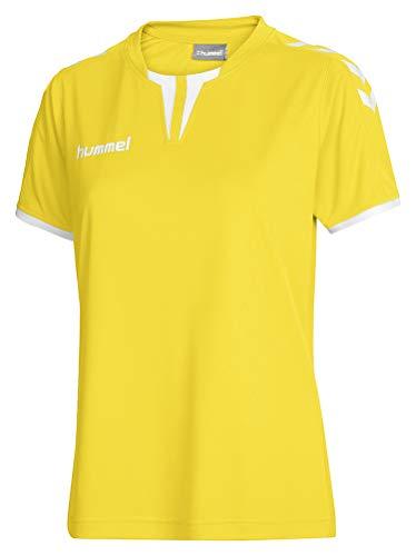 Hummel Damen Trikot Core Short Sleeve Jersey, Sports Yellow, L