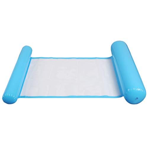 CLISPEED Colchoneta hinchable para piscina, hamaca de malla, para niños y adultos, hawaiano, luau, verano, playa, fiesta, piscina, juguete