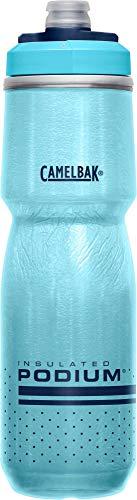 CamelBak Podium Chill Insulated Bike Water Bottle 24 oz, Lake Blue