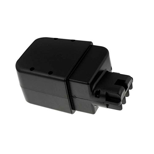 Powery Batería para metabo Cortasetos HS A 8043 (contactos Planos) 3000mAh