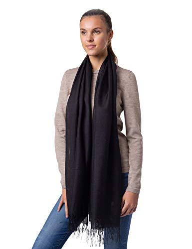 Portofino Alpaca Wool Scarf for Women and Men | Luxury Designer Wrap by Alicia Adams Alpaca | Hypoallergenic