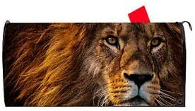 LuxMart Lion 2 Vinyl Magnetic Mailbox Quality Ma Super sale period limited Superior Excellent Cover
