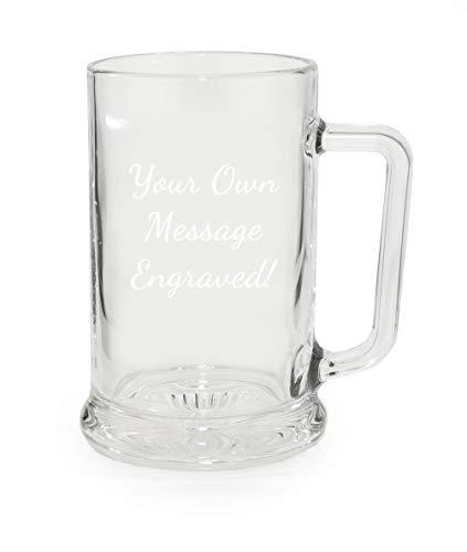 Personalised Heavy Pint Glass Mug/Tankard/Cup In Presentation Box - Enter...
