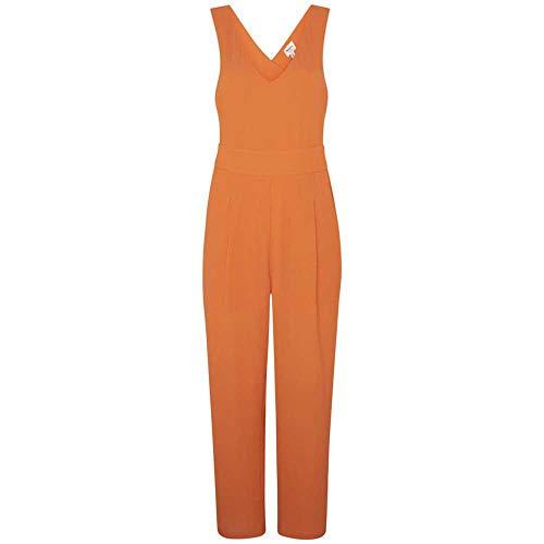 Pepe Jeans Damen Jumpsuit, Orange (Crusty 175), Large