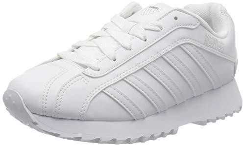 K-Swiss Damen Verstad 2000 S Sneaker, White/White, 40 EU