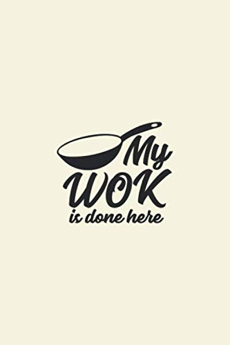 my wok is done here My Favorite Recipes: Blank Recipe Book Journal | Personalized Recipe Book | Blank Recipe Organizer For Recipes | Blank Recipe ... recipes to note down: Large size 6