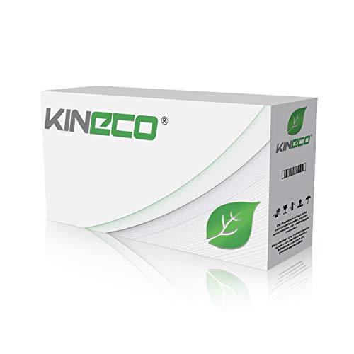 Kineco 2 Schriftbänder kompatibel für Brother MK-231,P-Touch 50 60 65 75 80 85 90 110 BB4 12mm/8m - Schwarz auf Weiß (Thermofarbband)