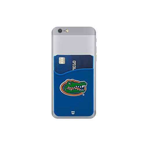 195746e885a8 Amazon.com: Florida Gators Adhesive Silicone Cell Phone Wallet/Card Holder  for iPhone, Android, Samsung Galaxy, Most Smartphones: Cell Phones &  Accessories