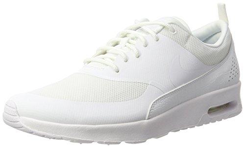 Nike Air Max Thea Damen Sneakers, Weiß (White / White), 42 EU