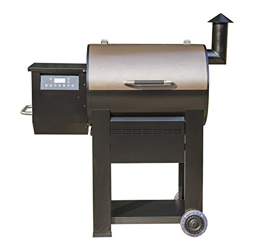 Monument Grills 87578 Bronze Powder Coated Steel Wood Pellet Grill and Smoker with 435 Square Inch Cooking Space and WiFi Control