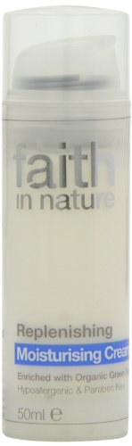 Faith In Nature Replenishing Moisturising Cream Hypoallergenic & Paraben Free 50ml