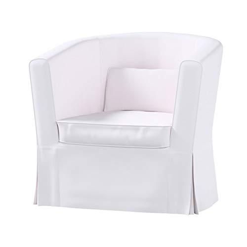 Dekoria Ektorp Tullsta Sesselbezug Sofahusse passend für IKEA Modell Ektorp Weiss