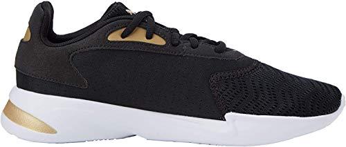 Puma Damen JaroMetal WNS Sneaker, Schwarz Black-Gold, 39 EU