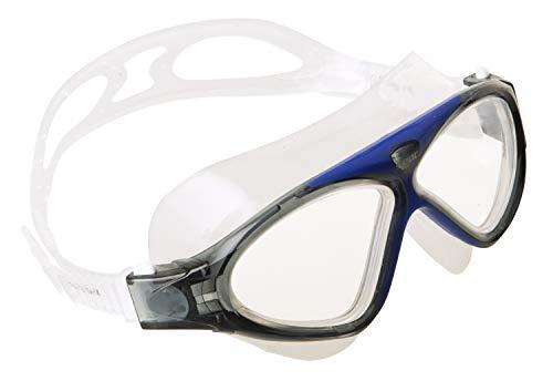 Seac Brille VISION HD Schwimmbrillen für Pool und Freiwasser für Damen und Herren, blau, one size