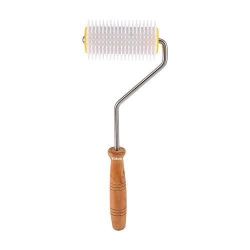 Bienenzucht Fixierer Walze für Nadeln, Bienenzucht Honig Kamm Miele Extrakt Abzieher Werkzeug Ausrüstung Imker Evolution Instrument