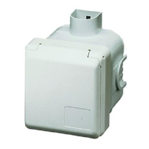 Mennekes UP-Dose 4244 16A,5p,6h,400V, Cepex CEE/SCHUKO-Architekturprogramm (IP44) 4015394022923, Weiß
