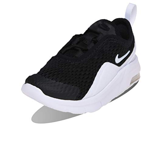 Nike Baby-Jungen Air Max Motion 2 (TDE) Sneaker, Black/White, Numeric_21 EU