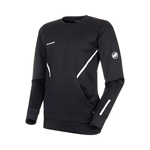 Mammut Avers Couches intermédiaires - Pullovers Homme Black FR : XL (Taille Fabricant : XL)