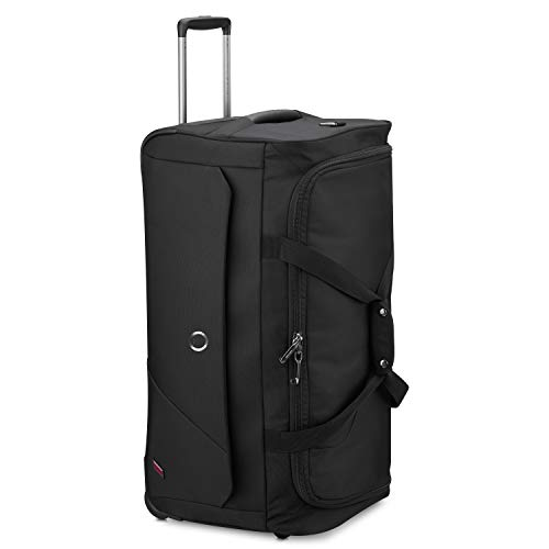 Delsey Paris New Destination Bolsa de Viaje 72 Centimeters 77,3 Negro (Schwarz)