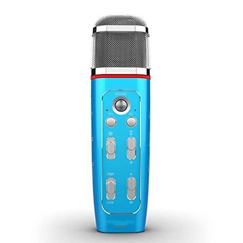 N&W Karaoke Microphone - Professional Handheld Rechargeable Microphones for Karaoke Home Teaching Speech Church- Multi-Color Optional (Color : Pink)