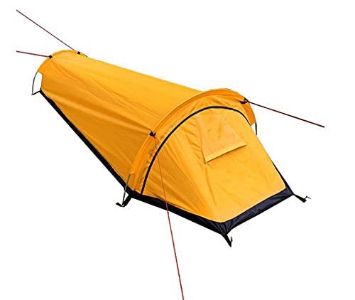 Tienda de campaña al aire libre, tienda de campaña, tienda de campaña grande, camping al aire libre Mochilero cálido Tienda impermeable Tienda de excursiones al aire libre Bolsos de dormir Tienda Tien