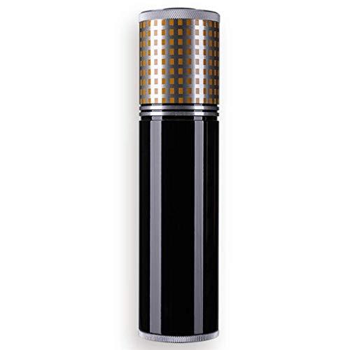 ZXL sigaarkist, Humidor sigaartube sigaartube reizen draagbare sigaar moisturizer crème met thermometer moisturizer (kleur: zilver)