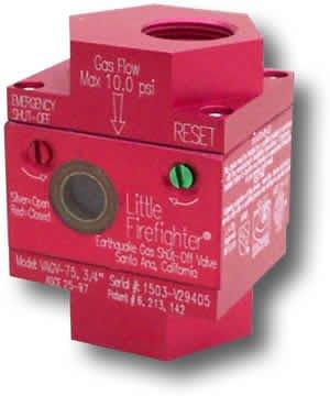 Firefighter Gas Safety VAGV-75 3/4