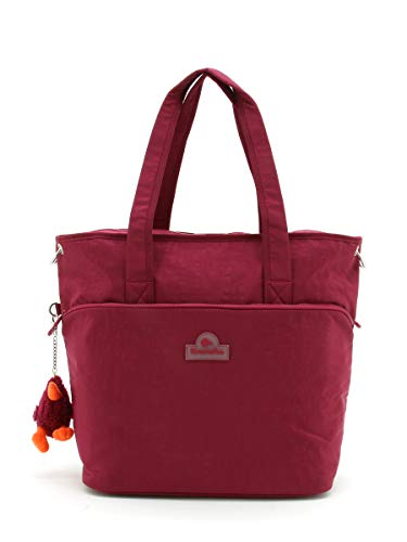 Kiwiwho Red Satchel on Wheels Kiwiwho8001-M003
