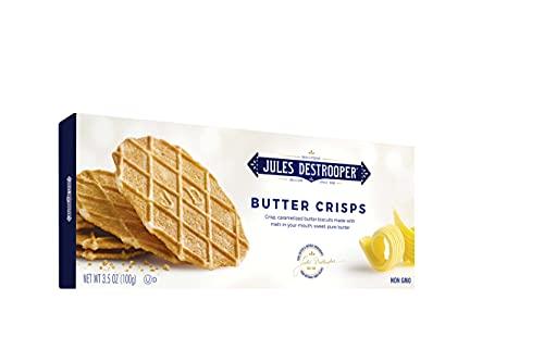 Jules Destrooper Butter Crisps. 3.5 Oz. [Pack of 4]