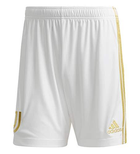 adidas Juventus Home - Pantaloncini Unisex per Bambini, Unisex - Bambini, Pantaloncini da Bambino, EI9897, Bianco/pirite, 164