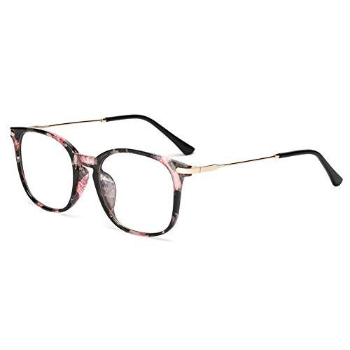 Peekaco Blue Light Blocking Glasses, Mens & Womens Blue Light Glasses Best for Computer Gaming, Reading -Advanced Eight Layer Glasses Relief Eyestrain & Headache. (Flower)