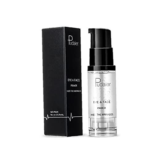 Tsikuxm 1bottle Magic Eye Primer Maquillaje Sombra de Ojos Base para prevenir Tapas aceitosas y comprimido Transparente Impermeable de Ojos Impermeable (8 ml)