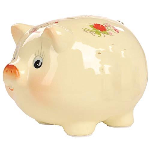 ZXC Home Persoonlijkheid Varken Kind Zilver Munt Verander Keramische Piggy Bank Om Vrienden Verjaardagscadeau Creatieve Decoratie Stuur