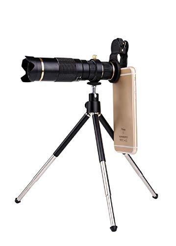 YHDQ Mobiele telefoon telescoop hoofd/universele 23 keer mobiele telefoon telelens 4k high definition zoom focus externe lens
