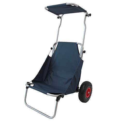 MERMONT キャリーカート キャリーワゴン カートチェア 折りたたみ 台車 椅子 耐荷重120kg