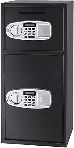 WXFCAS 2.6 CBF Cassaforte a doppio strato Grande depositaria Cassaforte con tastiera elettronica Combinazione con tasti Backup, Parete o Cabinet Progettazione di ancoraggio per l home office Hotel Bus